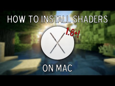 Minecraft: How to Install Shaders on Mac (1.8+)