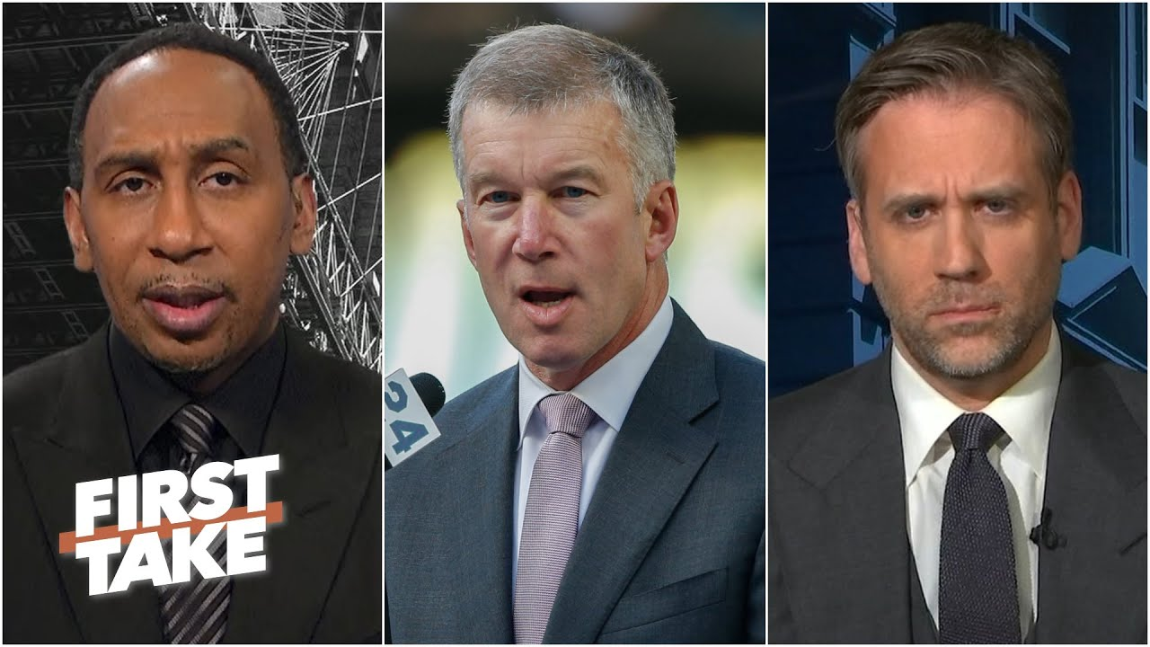 First Take reacts to Seattle Mariners president & CEO Kevin Mather resigning