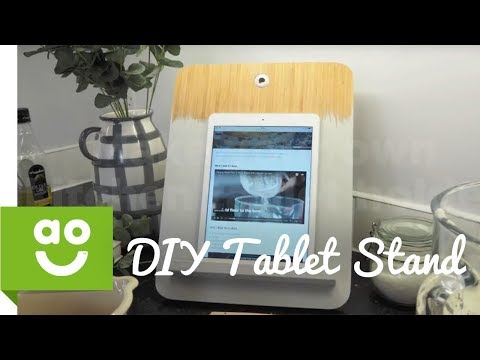 DIY Tablet Kitchen Stand | ao.com