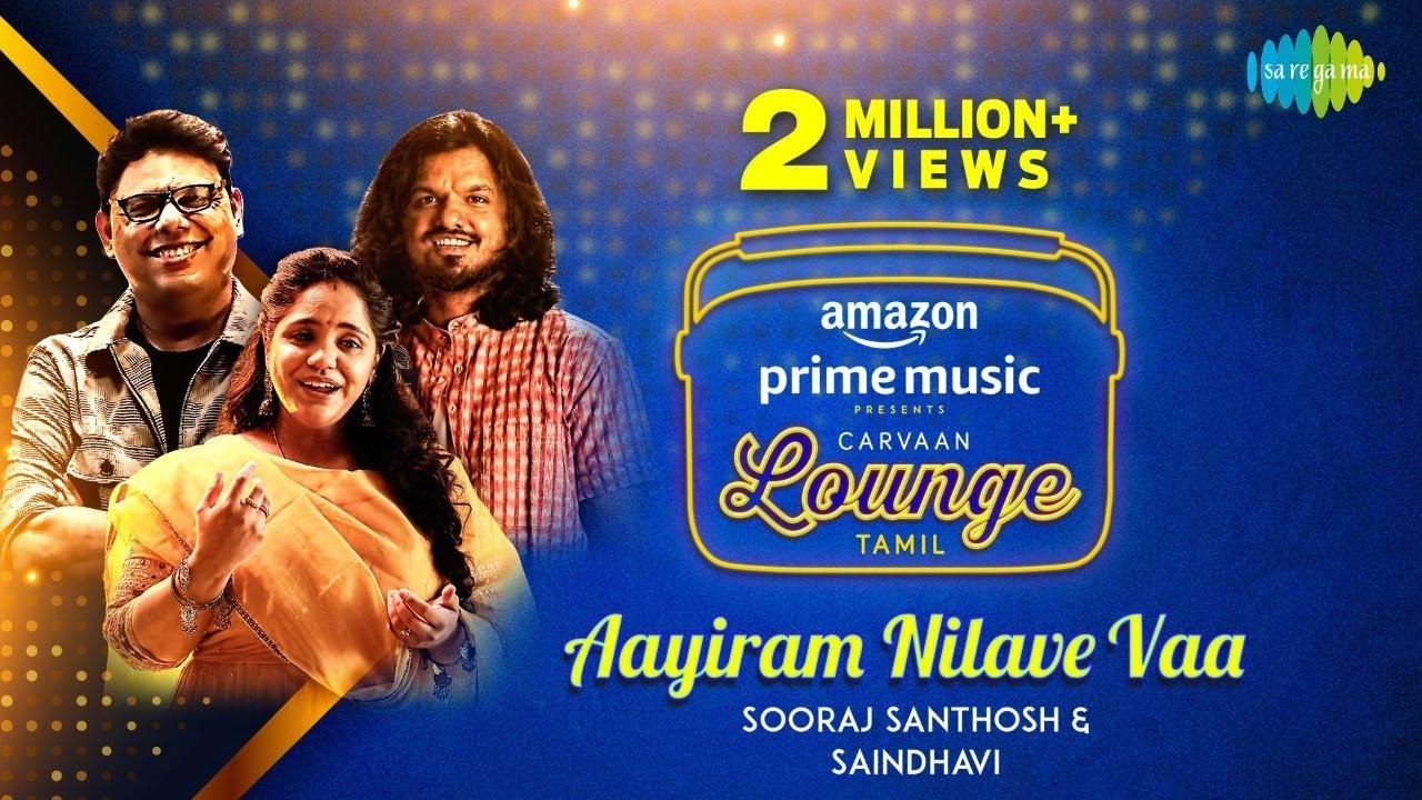 Download Aayiram Nilave Vaa | Sooraj Santhosh | Saindhavi | C. Sathya | Carvaan Lounge Tamil MP3 Gratis