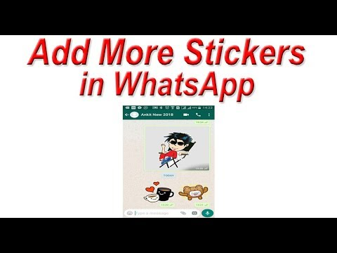 How to Add More Stickers in WhatsApp | Send Stickers on WhatsApp