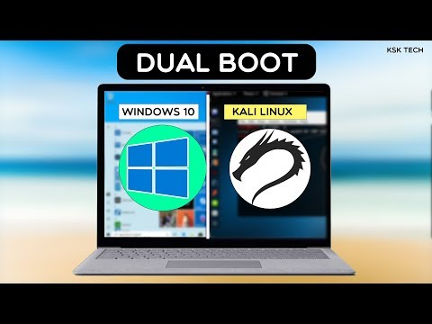 Dual Boot WINDOWS 10 and KALI LINUX  Easily  STEP BY STEP GUIDE