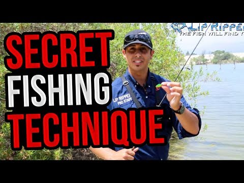 Secret Trout Fishing Technique - How To Catch BIG TROUT with Lip RipperZ Z Spoon Lures