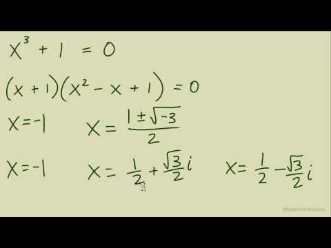 Complex Numbers in Trig Form Notation - Part 3 (Complex Roots and Solutions)