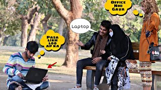 Beggar With iPhone 12 pro max, Girlfriend, Apple Laptop Prank  | Gone Funny | prankstar tube