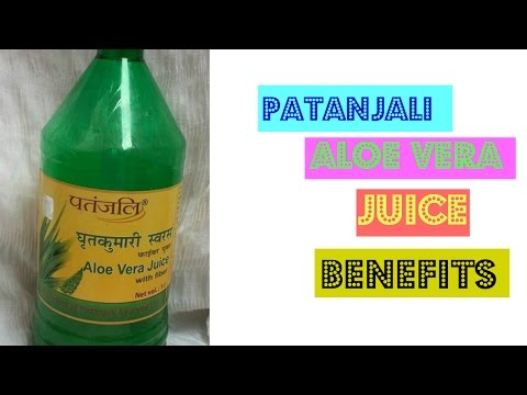 HOW TO USE PATANJALI ALOE VERA JUICE   Health Benefits & Review