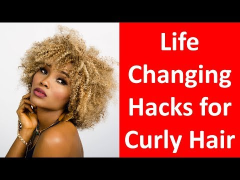 18 Life Changing Hacks for Curly Hair