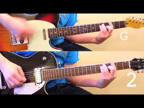 The Beatles - I Want To Hold Your Hand Guitar- Guitar Lesson