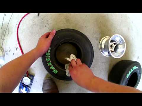 MAINTENANCE: Changing your Maxxis® tires on your K4A® kart