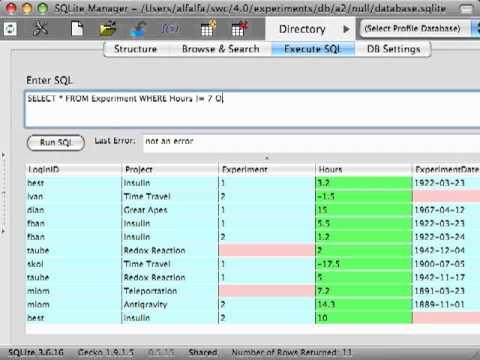 Databases - Episode 7 - Missing Data