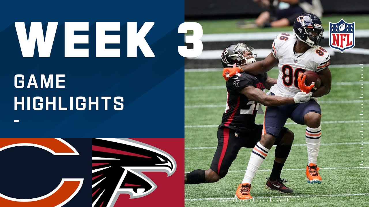Bears vs. Falcons Week 3 Highlights | NFL 2020