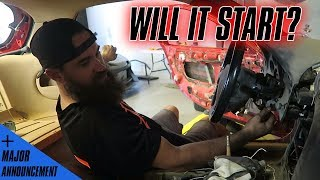 STARTING THE FD RX-7 FOR THE FIRST TIME! (+$5K VIP SWEEPSTAKES WINNER ANNOUNCED!)