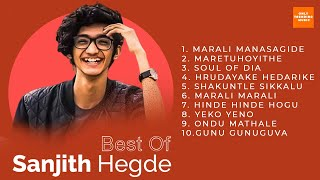 Sanjith Hegde Super Hit songs   Kannada Super Hit songs 2020   Sanjith Hegde Best Songs