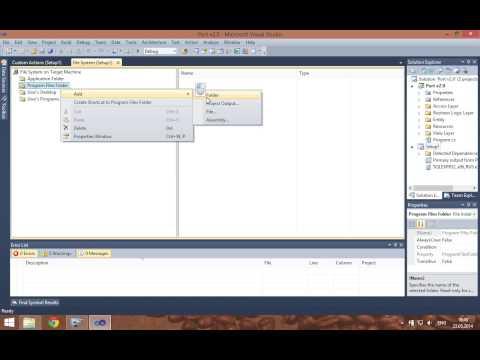 Visual Studio Installer Project & SQL Server