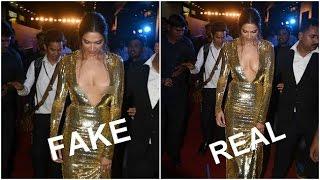 This Pic Of Deepika Padukone's Wardrobe Malfunction Is FAKE