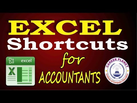 Excel Shortcuts for Accountants Part-1 (Hindi)|Learn Microsoft Excel Tricks and Shortcuts