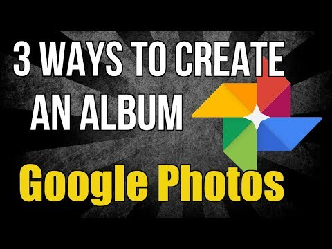 3 ways to create an album in Google Photos