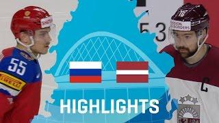 Russia - Latvia | Highlights | #IIHFWorlds 2017