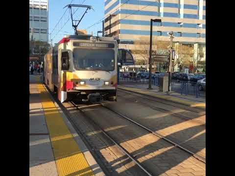 Baltimore MTA Light Rail Trains