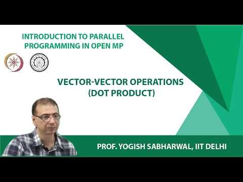 Vector-Vector operations (Dot product)