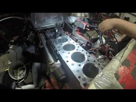 ISX Engine re build PT33 New Liner check and Install by Rawze