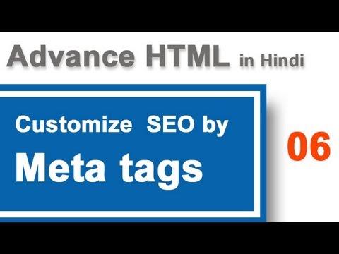 Meta tags for SEO of webpage in Hindi