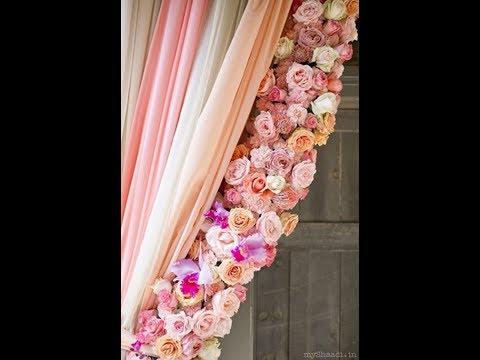 How to DIY Flowers Trim Curtain (tutorial)
