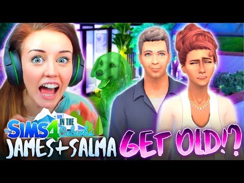 BRUNO IS GONE!? JALMA ARE OLD?! 😭(The Sims 4 IN THE SUBURBS #17! 🏘)