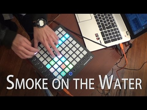 Smoke on the Water - Franco Cruces (Deep Purple Cover) with a Launchpad MK2 and Ableton Live