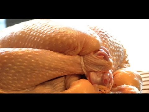 How to Truss a Chicken (with no string)