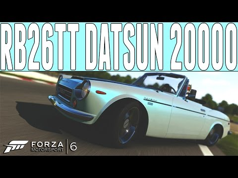 Forza 6 Drift Build : Datsun 2000 Roadster