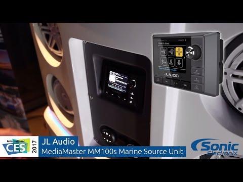 JL Audio MediaMaster MM100S Marine Source Unit   CES 2017