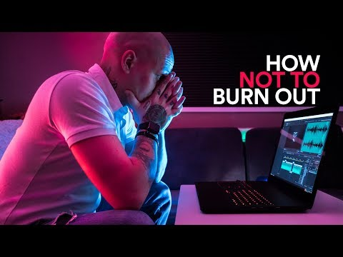 How NOT to BURN OUT. Don't fight CREATIVE BLOCK