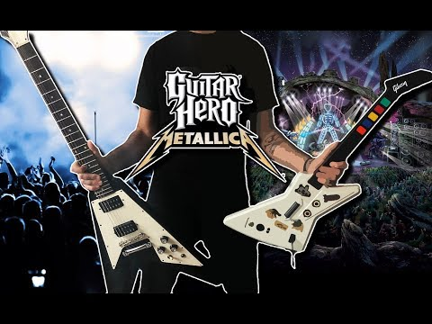 All Guitar Hero Metallica Riffs On A Real Guitar