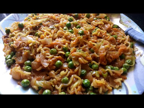 Maggi Noodles Recipe in Hindi || Street style Delicious Maggi Recipe || Indian Style Recipe ||