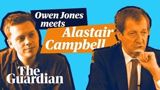 Owen Jones meets Alastair Campbell – full length interview
