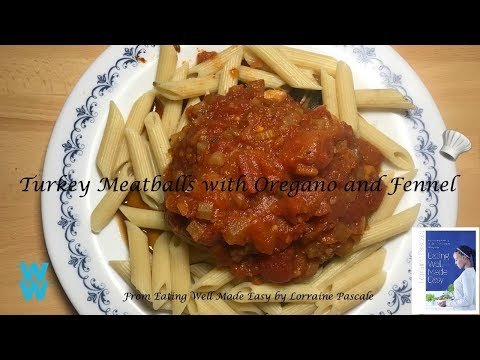 How to make Turkey Meatball with Oregano and Fennel from Lorraine Pascale