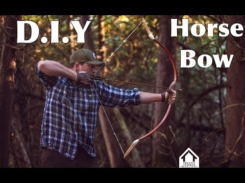 DIY bamboo Horse Bow Kit
