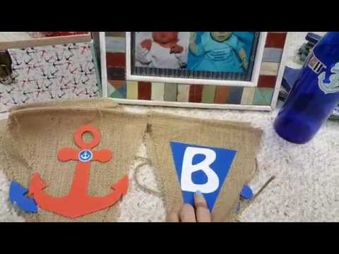 BOY baby shower ideas- Nautical Theme!