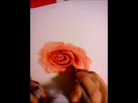 Drawing a rose with Copics - HQ