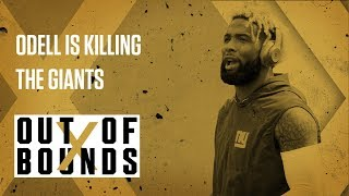 Is Odell Beckham Jr Leading The Giants Off the Cliff? | Out Of Bounds