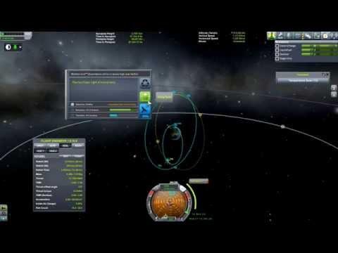 Kerbal Space Program 1.0 - Ep 5:  Kerbin Polar Orbit