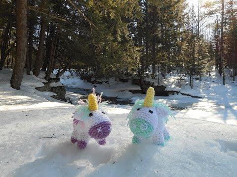 Amigurumi Crochet Unicorn Tutorial