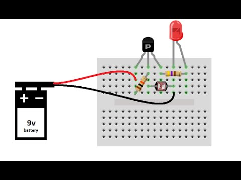 LIGHT DETECTOR - DIY Project & explanation