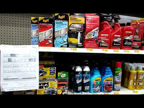 Chemical guys products loading up walmart shelfs