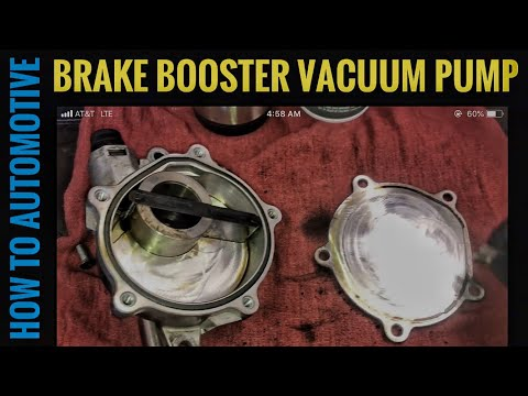 How to Rebuild the Brake Booster Vacuum Pump on a 2002-2014 Volvo XC90