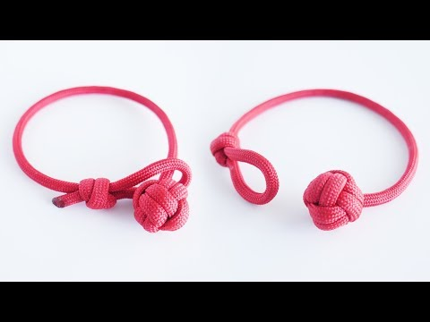 How to Make a Single Strand Monkey's Fist Paracord Bracelet Tutorial