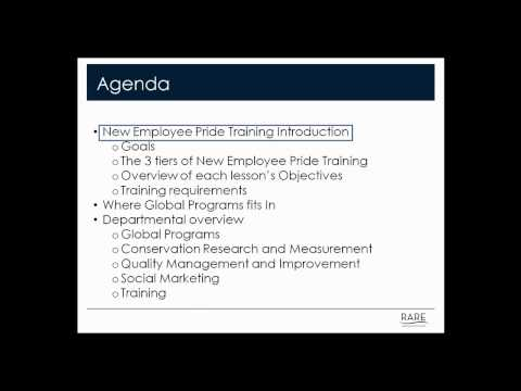 Introduction to New Employee Pride Training Part 1