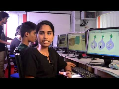 making of Veg House, 2d animation project by vismayam students