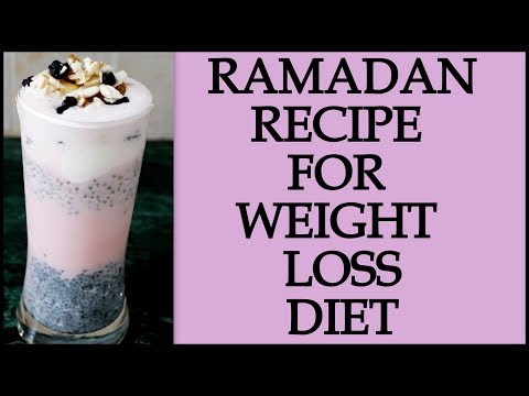 Ramadan Diet/Meal Plan | How to Lose Weight Fast in Ramadan | Ramzan Recipe For Weight Loss